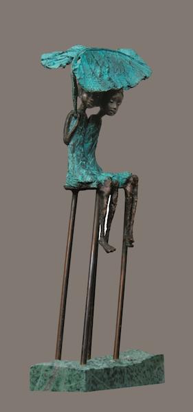 68 cm. Bronze. Edition 15  <br /><br />68 cm. Bronze. Edition 15