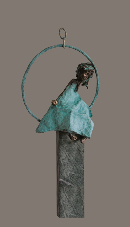 70 cm. Bronze. Edition 15<br /><br />70 cm. Bronze. Edition 15.