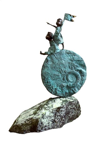 51 cm. Bronze. Edition 15<br /><br />51 cm. Bronze. Edition 15