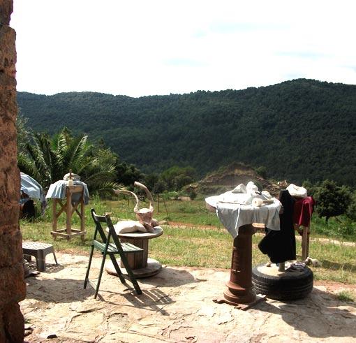 Uitzicht Beeldhouwen PenseRosa